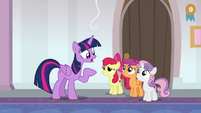 Twilight Sparkle -you can't be my students- S8E12