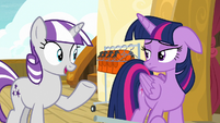 "Twilight Velvet ""I could could race your brother"" S7E22"
