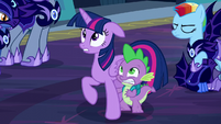 Twilight and Spike scared S5E26