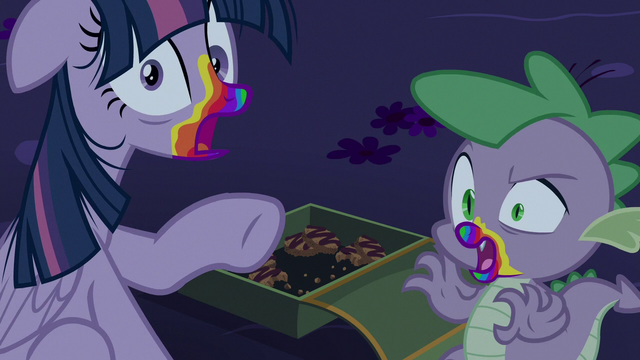 File:Twilight and Spike turned into zombies S6E15.png