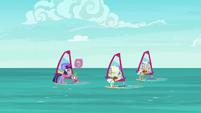 Twilight asks windsurfing elders about Dusty S9E5