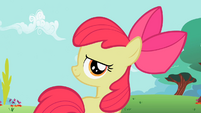 Apple Bloom looking behind S2E06