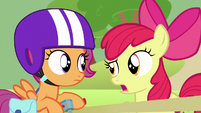 "Apple Bloom suggesting ""a Pegasus chariot?"" S7E7"