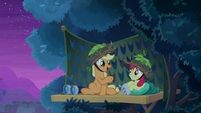 "Applejack ""it's been a long time since"" S9E10"