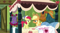 Applejack 'Your cousin isn't gonna care whatcha wearing' S3E4