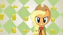 Applejack en la gala