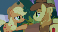 Applejack has confidence in Braeburn S9E17