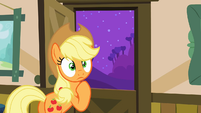 Applejack in deep thought S3E8