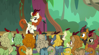 Autumn Blaze doing stand-up comedy S8E23