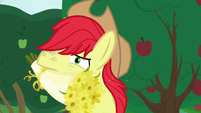 Bright Mac smelling the buttercups' pollen S7E13
