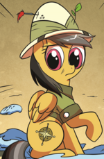 Comic issue 15 Daring Do