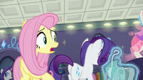 "Fluttershy ""who says that?"" S8E4"