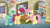 Fluttershy --you do everything for him!-- S6E11