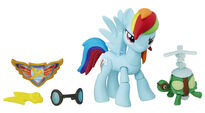 Guardians of Harmony Rainbow Dash and Tank figures