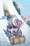 MLP Holiday Special 2017 cover A textless