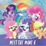 MLP Pony Life Amazon.com promo - Meet the Mane 6