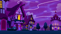 Magic threads stretch over Ponyville S5E13.png