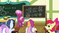 Miss Cheerilee --it's very important-- S6E14