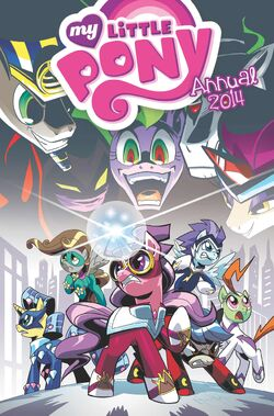 My Little Pony Annual 2014 cover