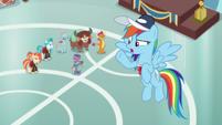 """Rainbow Dash """"an actual buckball team"""" S9E15"""