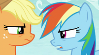 Rainbow Dash unamused -good one- S8E9