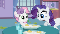 "Rarity ""Now easy"" S2E05"
