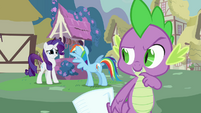 Rarity don't worry Rainbow S3E11