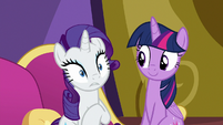 Rarity realizing what she's done S9E19