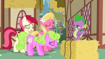 S02E06 Uspokojone Daisy, Lily, i Rose