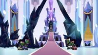 Sombra seizes control of the Crystal Empire S9E1
