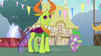 "Spike ""you really need to unwind"" S7E15"