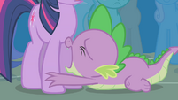 Spike pleading with Twilight S1E06
