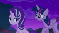 Twilight --when I first came to Ponyville-- S6E6