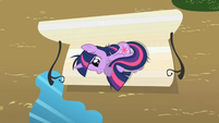Twilight Sparkle on the bench S2E03