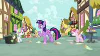 Twilight scolds Toola Roola and Coconut Cream S7E14