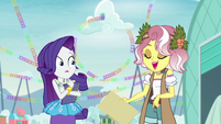 "Vignette calls Rarity ""im-press-ive"" EGROF"