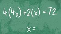 Algebraic equation on Twilight's chalkboard EGDS6