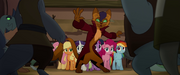 Capper jumps to the Mane Six's rescue MLPTM