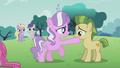 Diamond Tiara touches a colt's mouth S5E18.png