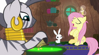 "Fluttershy ""that's where I am"" S9E18"