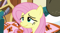 Fluttershy smiling in relief S5E21