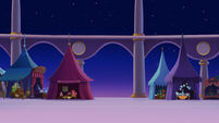 MLP The Movie background art - Festival grounds at night