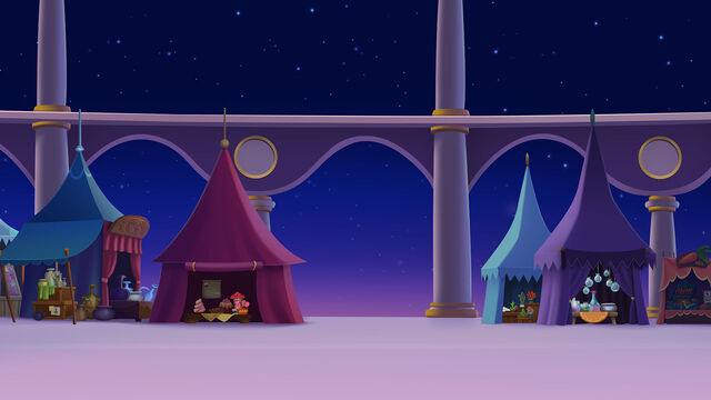 File:MLP The Movie background art - Festival grounds at night.jpg