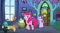 "Pinkie ""already tried Discord's dimension"" S8E3"
