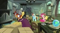 Pinkie Pie finds a relic surging with electricity S7E18