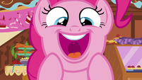 "Pinkie Pie thrilled ""it's a baby!"" S5E19"