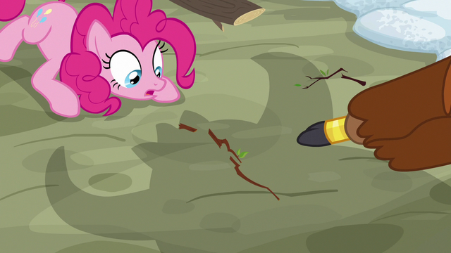 """File:Prince Rutherford points at """"sacred yak twig"""" S7E11.png"""