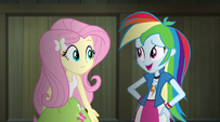 "Rainbow ""Fluttershy's written a really great one"" EG2"