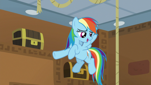 """File:Rainbow """"the poster ponies for amazing friendships!"""" S7E2.png"""