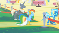 Rainbow Dash about to enter the Vip area S1E26.png